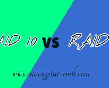 Difference Between RAID 10 and RAID 01