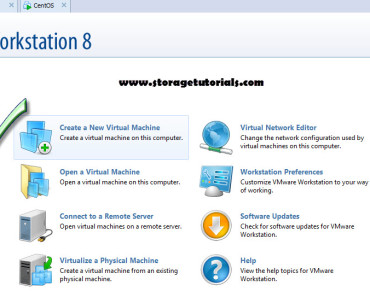New Virtual Machine in VMware8