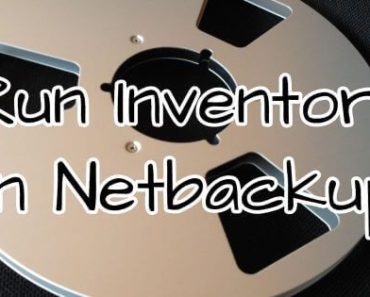 How to Run Inventory in Netbackup 6.5