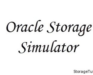 oracle storage simulator