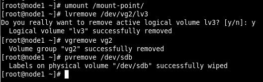 filesystem remove
