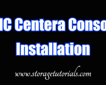 EMC Centera Console Installation