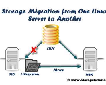 Storage Migration from One Linux Server to Another