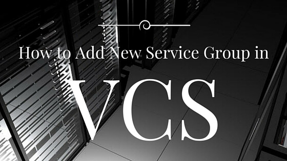 How to Add New Service Group