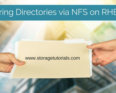 How To Share Directory Via Network File System NFS on RHEL 7
