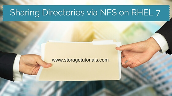 How To Share Directory Via Network File System (NFS) on RHEL 7