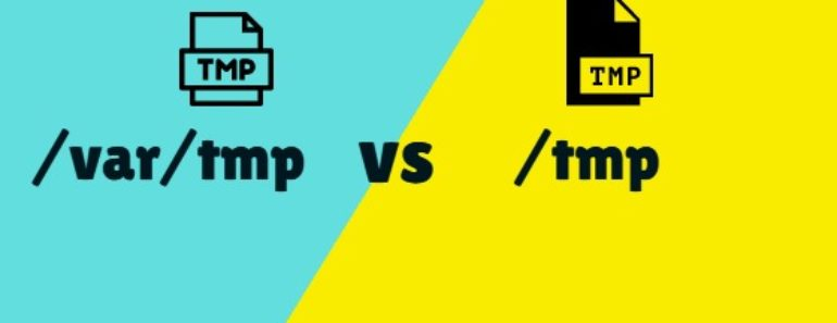 Difference Between Var/tmp And Tmp