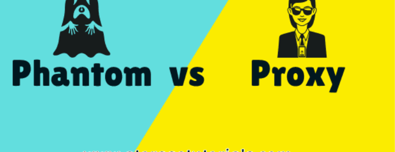 Difference Between Proxy and Phantom Resources in VCS