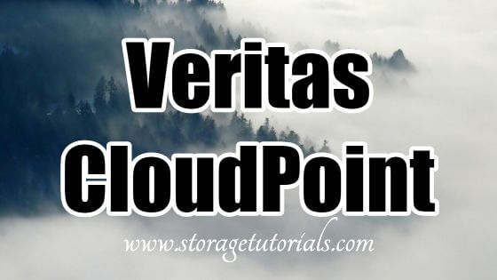 Veritas CloudPoint Data Protection for Cloud and Data Center