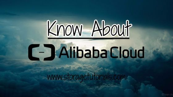 Know About Alibaba Cloud Services