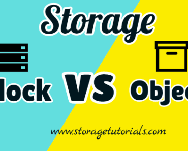 Difference Between Block Storage and Object Storage