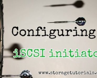 How to Configure iSCSI initiator in RHEL 7