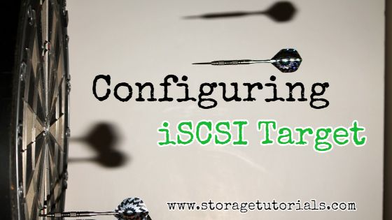 iSCSI Target configuration in RHEL 7 CentOS 7