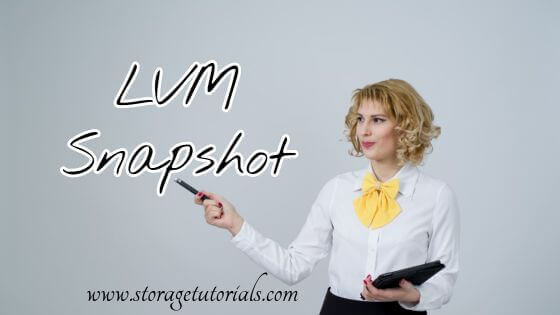 How to Take LVM Snapshot RHEL Linux