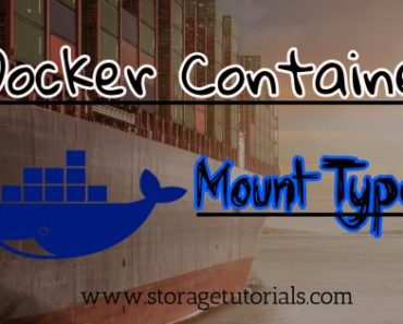 Different Mount Types for Docker Containers
