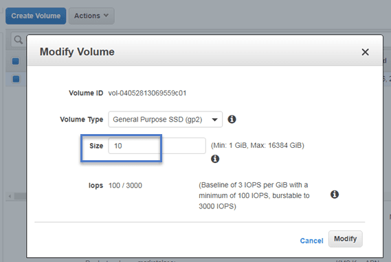 How To Increase the Size of Root File System in AWS Linux Instance?