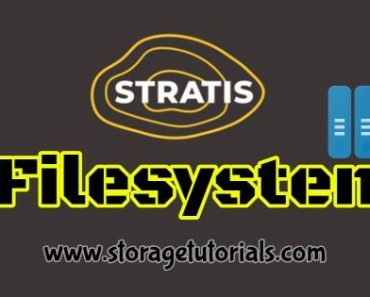 How to Create Stratis Filesystem and Pool in RHEL 8